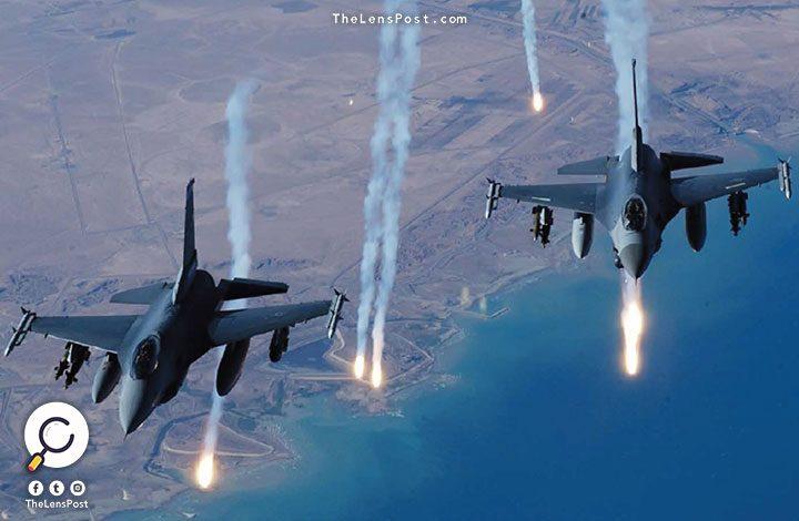 مقتل عشرات النازحين السوريين في قصف للطيران الحربي الروسي