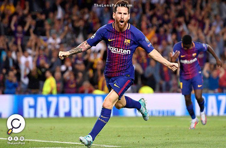 """برشلونة يقترب من حسم لقب """"الليجا"""""""