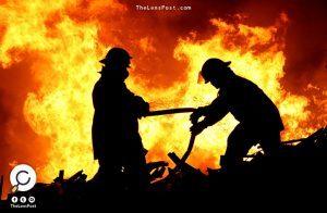 محتجون يحرقون مقرًّا للشرطة في تونس