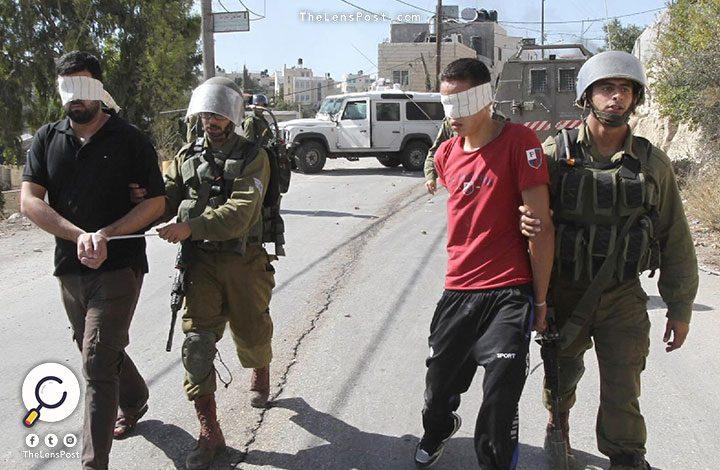 """""""إسرائيل"""" تعتقل 10 فلسطينيين في الضفة الغربية"""