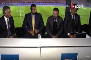"""فضيحة.. تسريب مقطع فيديو وألفاظ خارجة باستوديو تحليل مباراة """"مصر والبرتغال"""""""