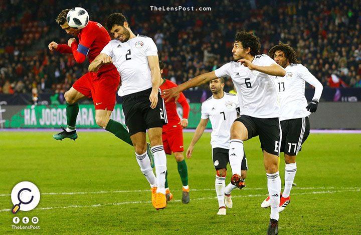 في الوقت بدل الضائع.. مصر تخسر بهدفين مقابل هدف أمام البرتغال
