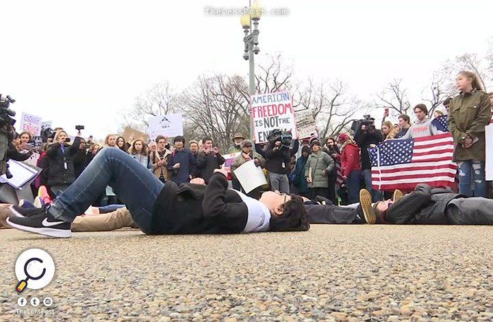 آلاف يحتجون في واشنطن.. لهذا السبب