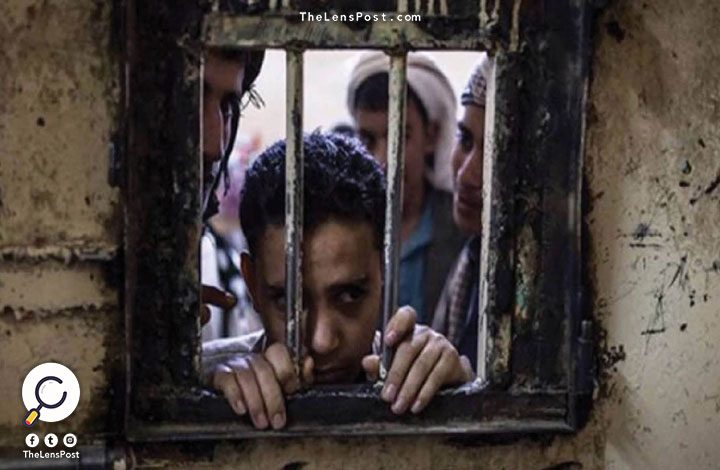 صور تظهر يمنيين في أوضاع مزرية بسجن سعودي