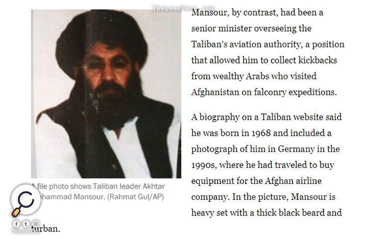 الواشنطن بوست: زعيم طالبان السابق قام بزيارة دبي 18 مرة لجمع أموال