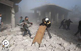 مقتل ألف و433 مدنيًّا في الغوطة الشرقية بسوريا