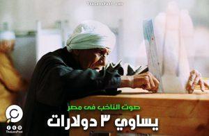 نيويورك تايمز: صوت الناخب فى مصر يساوي 3 دولارات