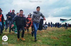 """خلال مسيرات """"العودة"""".. 7 شهداء وأكثر من 550 إصابة قرب حدود غزة"""