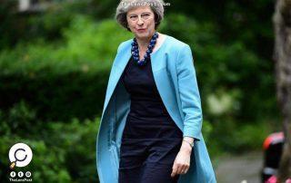 """رئيسة الوزراء البريطانية تجري محادثات مع """"بن سلمان"""" في مقر إقامتها الريفي"""