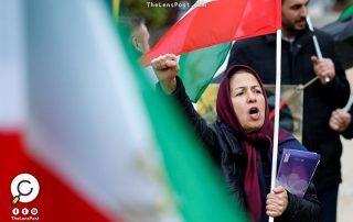 الشرطة تفرق مظاهرة نسائية في طهران