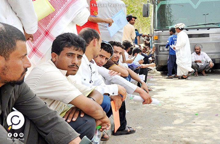 السعودية ترحل أكثر من 40 ألف يمني خلال أقل من ثلاثة أشهرالسعودية ترحل أكثر من 40 ألف يمني خلال أقل من ثلاثة أشهر