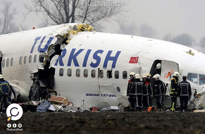 سقوط طائرة تركية خاصة في إيران ومصرع 11 شخصا
