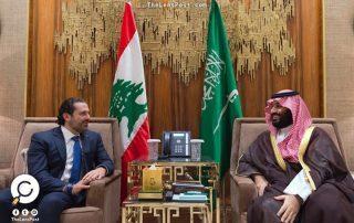 """صحيفة لبنانية: """"بن سلمان"""" منح """"الحريري"""" 400 مليون دولار للانتخابات النيابية"""