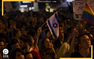 مظاهرات في اسرائيل