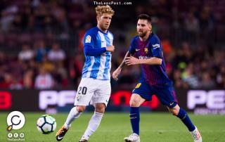 برشلونة يتغلب على مالاجا