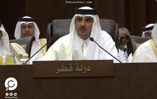 تميم يرأس القمة السعودية