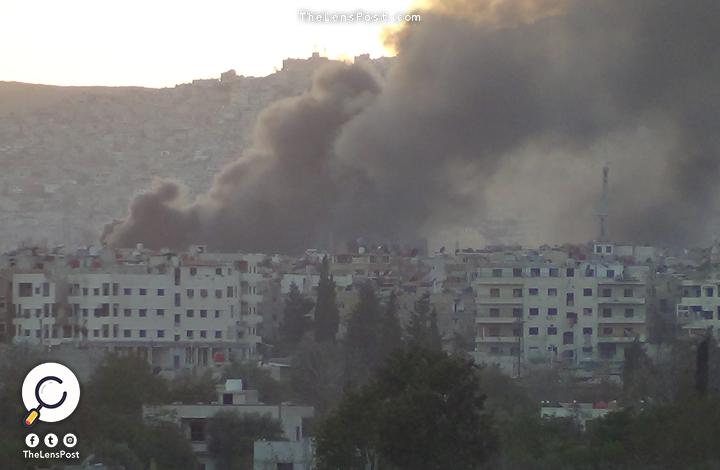 قصف الغوطة