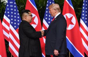 ترامب و كيم