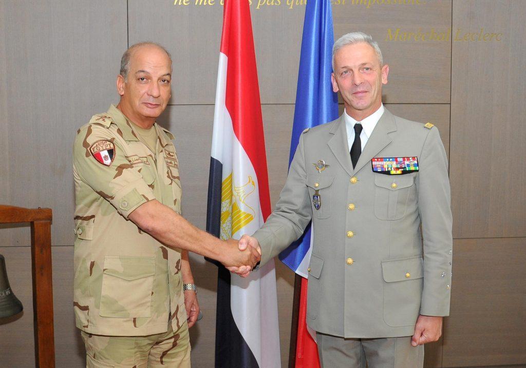 زيارة الفريق محمد فريد وزير الدفاع الجديد لفرنسا