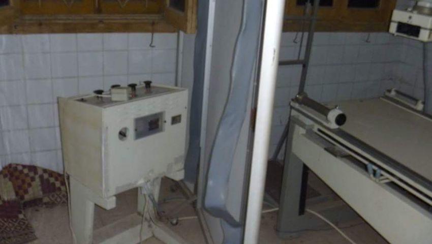 أجهزة طبية خربة