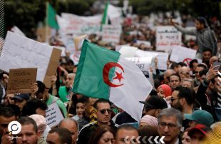 احتجاجات واسعة بالجزائر