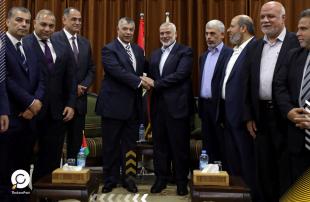حماس و وزير المخابرات المصرية