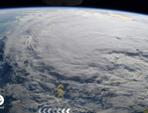 الاعصار دوريان كيف بدأ من الفضاء ؟