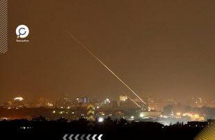 سقوط-صاروخ-من-غزة-بمنطقة-مفتوحة-جنوبي-إسرائيل