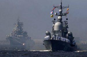 استمرار-التدريبات-العسكرية-البحرية-المشتركة-بين-إيران-والصين-وروسيا-في-المحيط-والخليج
