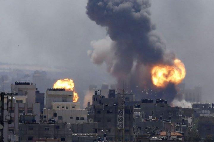 الاحتلال-يقصف-موقعا-لحماس