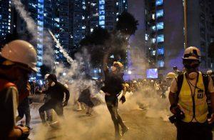 تواصل-الاحتجاجات-والمواجهات-في-هونغ-كونغ-لليوم-الثالث-على-التوالي