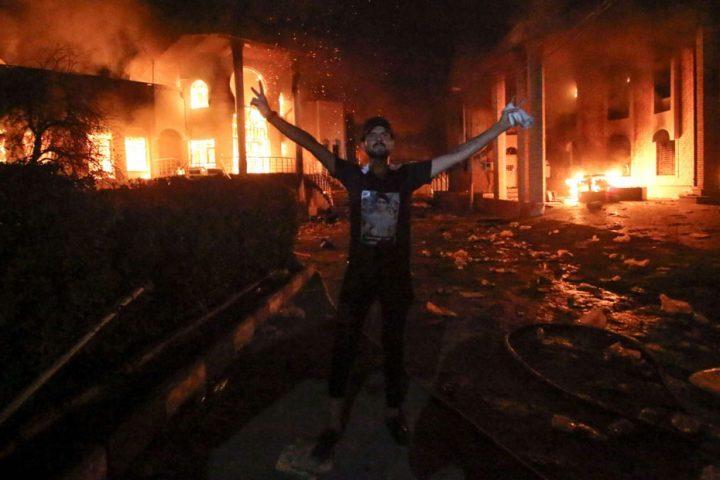 حرق-مقرات-حزبية-بالعراق