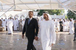 رئيس-إريتريا-يلتقي-بن-زايد-في-أبو-ظبي