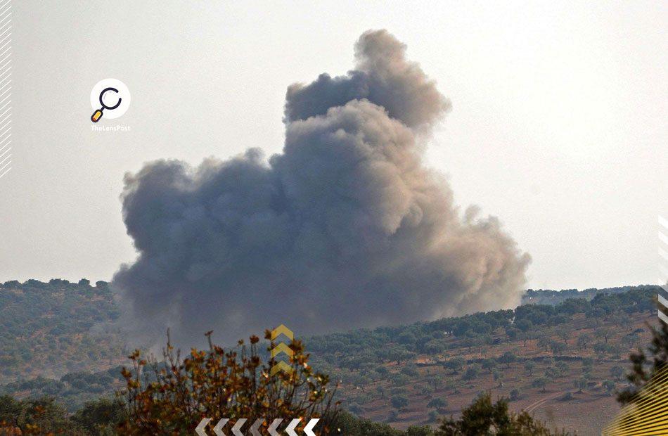غارات-لقوات-بشار-الأسد-على-إدلب