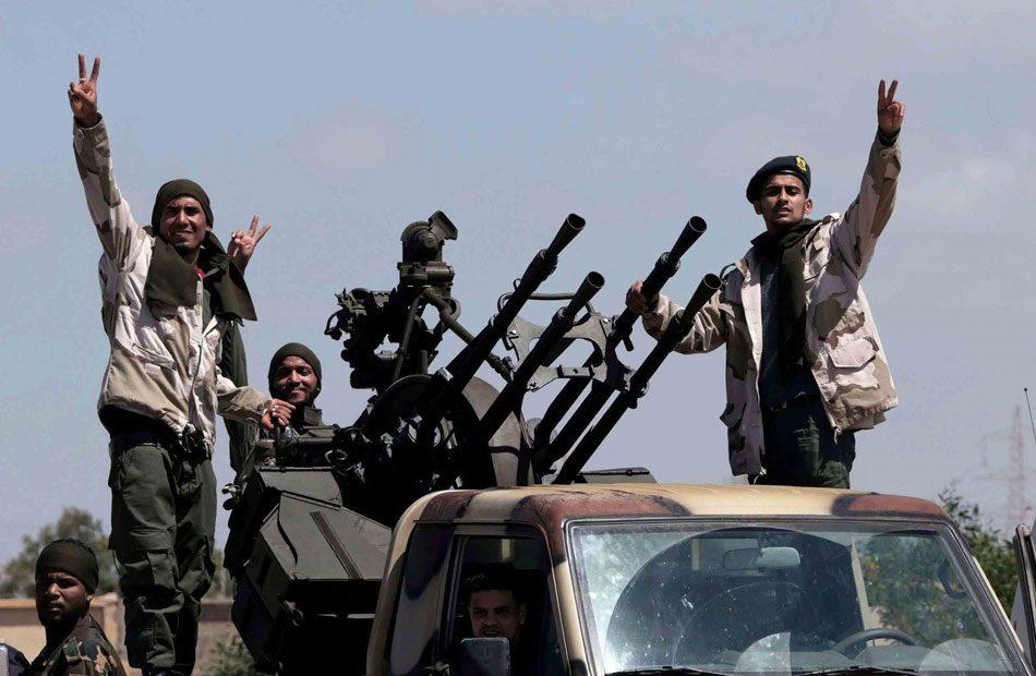 قوات-الوفاق-الليبية-تعلن-تدمير-8-آليات-لحفتر-جنوبي-طرابلس