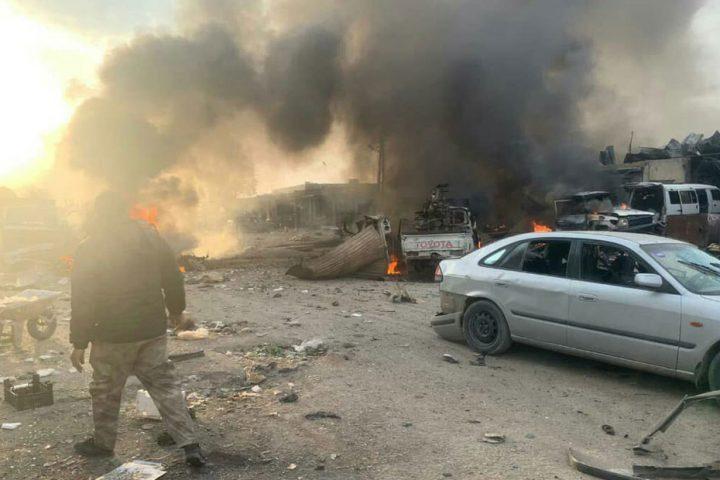 مقتل-خمسة-وإصابة-آخرين-بانفجار-في-رأس-العين-شمال-شرقي-سوريا