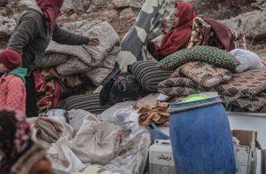 نزوح-أكثر-من-ربع-مليون-شخص-جراء-التصعيد-العسكري-في-إدلب