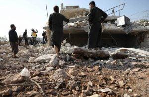 نزوح-25-ألف-مدني-خلال-يومين-بسبب-الهجمات-على-إدلب