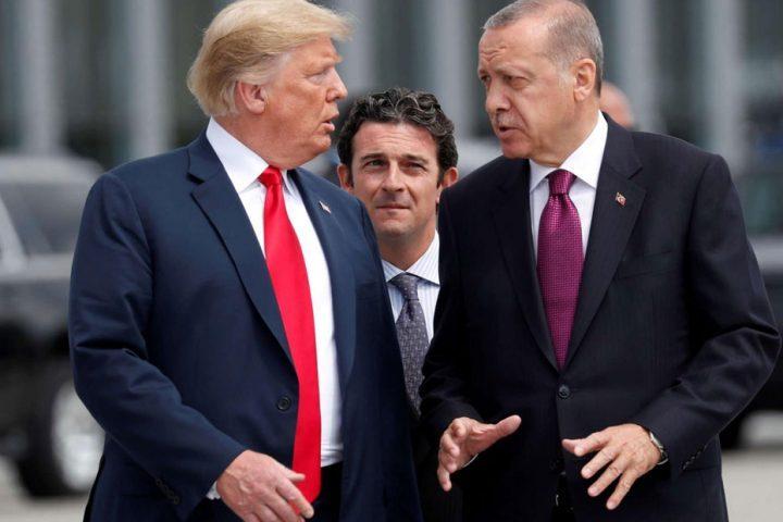 أردوغان-وترامب-يبحثان-هاتفيًأ-الأوضاع-في-ليبيا-وسوريا