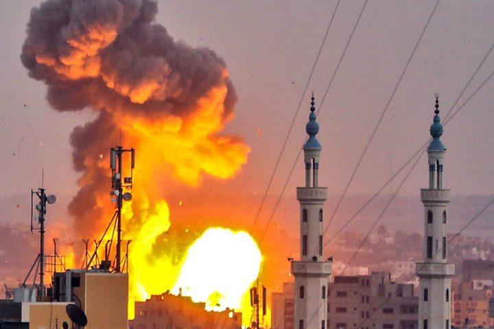 إسرائيل-تعلن-قصفها-مجددًا-أهدافًا-لـحماس-جنوبي-غزة