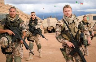الجيش-الألماني--أمريكا-وحلفاؤها-يعلقون-تدريب-القوات-العراقية