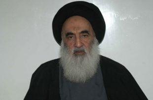السيستاني-لا-ينبغي-السماح-لإيران-وأمريكا-بتحديد-مصير-العراق