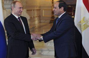 السيسي-وبوتين-يبحثان-هاتفيا-تطورات-الوضع-في-ليبيا