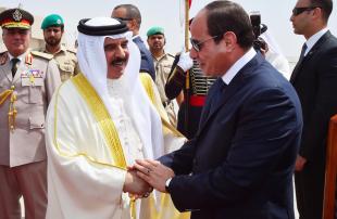 السيسي-وملك-البحرين-يبحثان-قضايا-المنطقة