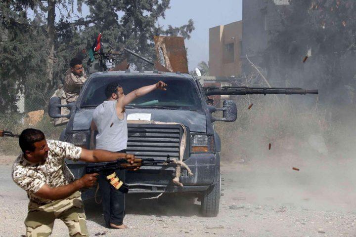 الوفاق-الليبية-تعلن-إسقاط-طائرة-إماراتية-مسيرة-داعمة-لقوات-حفتر