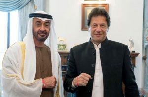 بن-زايد-لتقي-عمران-خان-في-زيارة-خاطفة-لباكستان