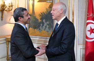 رئيس-تونس-يستقبل-وزير-خارجية-الإمارات-لبحث-تعزيز-سبل-العلاقات-بين-البلدين