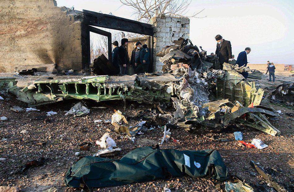 سقوط-طائرة-أوكرانية-بإيران-ومقتل-جميع-ركابها