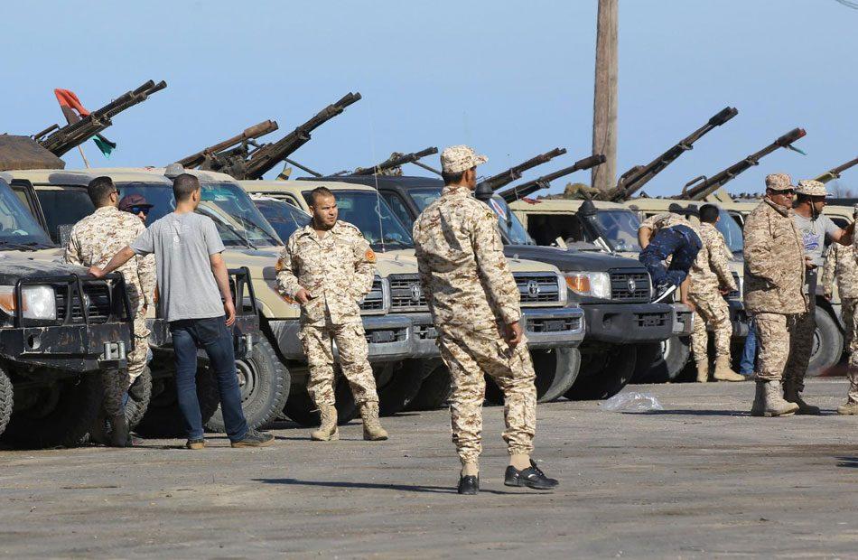 قوات-الوفاق-تعلن-أسر-25-مسلحًا-من-قوات-حفتر-بينهم-مرتزقة