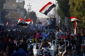 متظاهرون-عراقيون-يعيدون-فتح-طرق